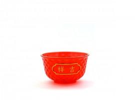 红水晶胶碗