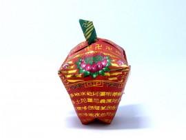 手工作品:小苹果