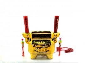 石瓷电香炉(方款)