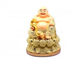 恭请弥勒佛 金色 树脂工艺佛像