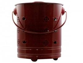 新款化宝不锈钢桶(小红)